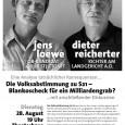 Stuttgart, 28.08.2012 Eine Analyse tatsächlicher Konsequenzen… Die Volksabstimmung zu S21 wurde von der neuen Landesregierung mit hohem demokratischen Anspruch ausgegeben. Bereits im Vorfeld war aber erkennbar, dass verschiedene Stolpersteine ein […]