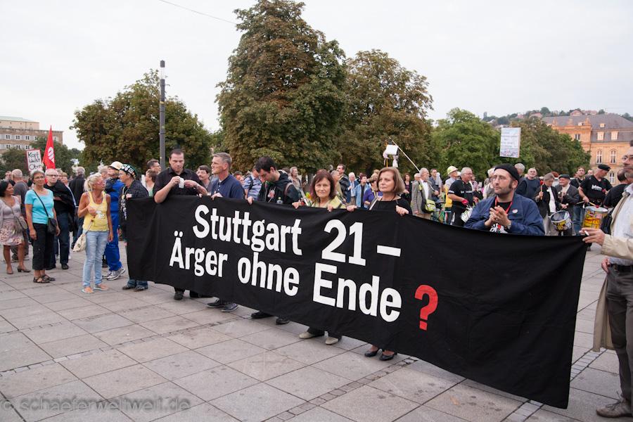 Bilder 138. Montagsdemo gegen Stuttgart 21