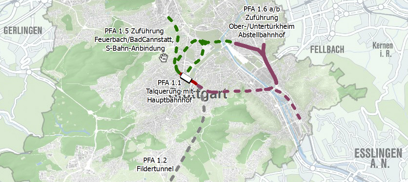 Tunnel Stuttgart 21