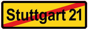 Kein Stuttgart 21!