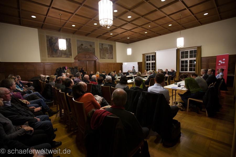 Bezirksbeiratssitzung Feuerbach 20.11.12