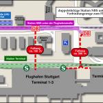 Wegentfernungen Station_Flughafenstrasse