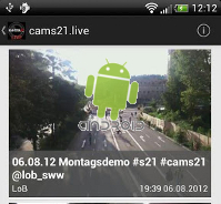 cams21.live ANDROID App