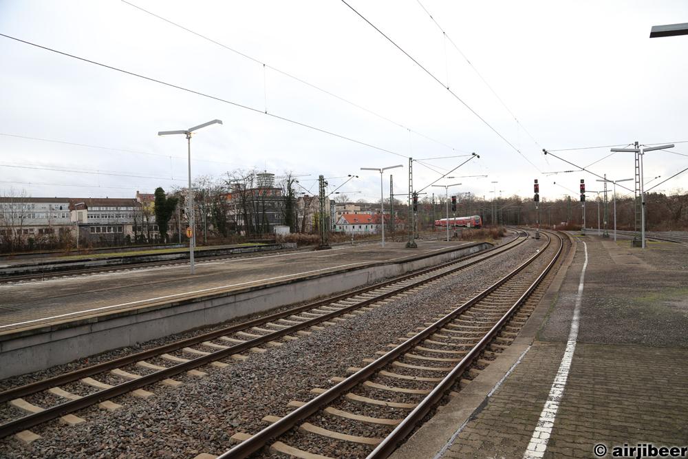 Bahnsteige Bhf Bad Cannstatt