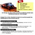 """Am 18. Februar 2013 fand im Gewerkschaftshaus im Anschluss an die 161. Montagsdemo die Veranstaltung """"Stuttgart 21 am Ende – Wie weiter mit der Bahn?"""" statt. Gemeinsam mit Pro Bahn […]"""