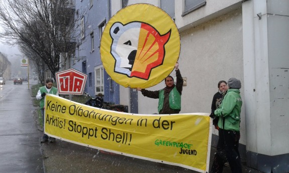 Greenpeace Shell