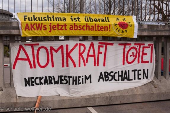 Archivbild Neckarwestheim 09.03.2013