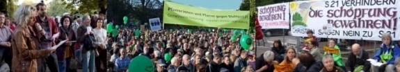 Christen gegen Stuttgart21