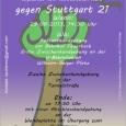 Die fünfte Samstagsdemo gegen Stuttgart 21 wird am Samstag, 29. Juni um 14.30 Uhr am Bahnhof Feuerbach starten. Demozug durch Feuerbach an die Stadtteile, wo es zu erheblichen Beeinträchtigungen durch den Bau von Stuttgart 21 kommen wird.