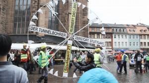 14.09.2013 Tunnelbohrer-Kampagne: Demo und Kundgebung in Heidelberg