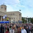 Die 187. Montagsdemo am 2.September 2013 findet ab 18 Uhrvor dem Stuttgarter Hauptbahnhof statt. Ab 18:45 Uhr Demozugzum Schlossplatz dort Schwabenstreich, Anschließend Offenes Mikrofon am Schlossplatz