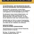 Die Folien im Referat: Kryptoparty_Piraten_WOB 2013.1 Zur Einstimmung eine entsprechende Veranstaltung aus Ulm.  Teil1. Teil2.