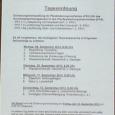 Falsche Anträge der Bahn, und eine vom EBA verbockte Umweltverträglichkeitsprüfung? Womit die Planfeststellung juristisch angreifbar würde.  Die Protagonisten und sogenannte « Experten » des verlogensten Projekts aller Zeiten: Frau Kühne, RP, Herr Trippen, Jurist, RP, Herr Kirchberger, Jurist, Bahn,  Herr Gerrit Enge und Herr Daniel Wäschenbach, Projekverantwortliche GWM, Bahn, Frau von Eicken, Juristin, Leiterin der Abteilung Planfeststellung EBA Stuttgart/Karlsruhe