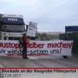"""""""Ihr seid schon 'ne heiße Truppe"""" lautete das Fazit eines Arbeiters, der am Dienstag 17.09.2013 unvermittelt von einer Blockade der Stuttgart21 Gegner am Stuttgart21 Filderportal gestoppt wurde. Etwa zwei Stunden […]"""