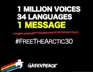 greenpeace 1 million voices