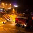 In den Abendstunden des 12.12.13 lieferte die Deutsche Bahn eines der Bauteile für ihre Tunnelbohrmaschine vom Stuttgarter Hafen zum Tunnelmund im Stuttgarter Stadtteil Fasanenhof. Unser Team von Kameraleuten, Fotografen und […]