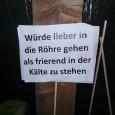 """Die """"Subkultur"""" in Stuttgart wehrt sich und Demonstriert Bei gefühlten minus 15 Grad fand am Dienstag den 03.12.2013die Demonstration """"Unsere Stadt stirbt! – Demo für den Erhalt kultureller Vielfalt in […]"""