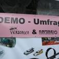 """Ausgehend von der Initiative """"Widerstand – Hauptsache dabei oder darf´s a bißle mehr sein?"""" fand am 17.02.14 die 3. Umfrage (jpg) unter den Teilnehmern der 210. Montagsdemo gegen Stuttgart 21 […]"""