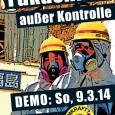 """Demonstration zum AKW Neckarwestheim am 09.März 14 Die Aktion wird unter dem Motto:""""Fukushima außer Kontrolle!""""von einem landesweiten Trägerkeis durchgeführt. Mitglieder im Trägerkeis sind: BI AntiAtom Ludwigsburg, Aktion Strom ohne Atom […]"""