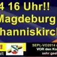 Eine Kundgebung gegen die Grundschulschließungsplänen der Sachsen-Anhaltischen Landesregierung gegen die kleineren dörflichen Grundschulen. Es sollen viele kleinere Dorfgrundschulen mit zu wenig Schülern zusammengelegt werden, mit zum Teil Schulbusfahrten über mehr […]