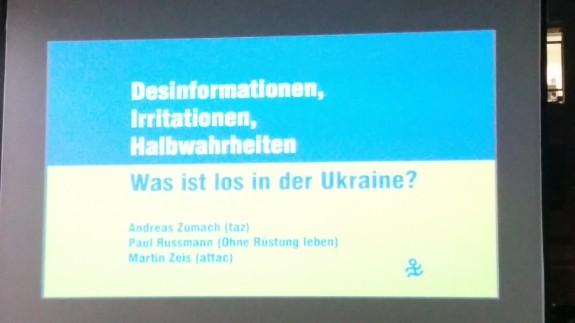 Was ist los in der Ukraine? 24.03.2014