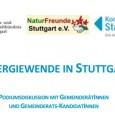 Podiumsdiskussion mit GemeinderätInnen und -KandidatInnen zur Umsetzung der Energiewende in Stuttgart Ort Alte Scheuer Degerloch am Agnes- Kneher- Platz, Große Falterstraße 6a, 70597 Stuttgart – Eintritt frei – Beginn Mittwoch, […]