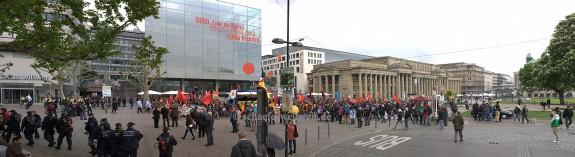 ©2014 Alexander Schäfer - 1. Mai Demo Schlossplatz