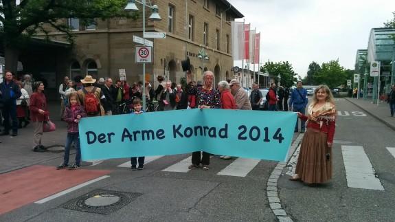 Der Arme Konrad 2014 Weinstadt-Endersbach 01.05.2014