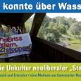 Der Elefantensteg über die B14 zum Rosensteinpark soll demnächst abgerissen werden für den Bau des Rosenstein-Autotunnels, der Holzsteg soll nächstes Jahr dem Bau einer neuen Eisenbahnbrücke für Stuttgart 21 weichen. […]