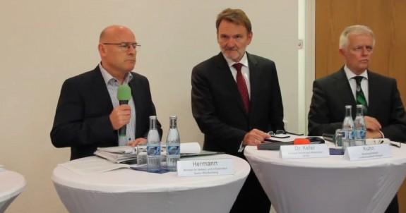 09.05.14 Pressekonferenz Lenkungskreis Stuttgart 21