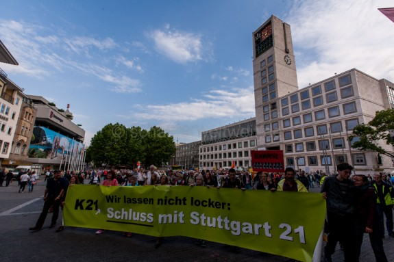 224. Montagsdemo gegen Stuttgart 21
