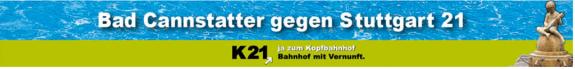 Bad Cannstatter gegen Stuttgart 21