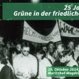 """GRÜNE beweg(t)en Geschichte: Im Jahr der sogenannten friedlichen Revolution 1989 organisierten Bürgerbewegte aus verschiedenen Gruppen wie """"Neues Forum"""", """"Demokratie jetzt"""", """"Unabhängiger Frauenverband"""", """"Grüne Liga"""" oder der """"Initiative Frieden und Menschenrechte"""" […]"""
