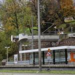 Haltestelle Wilhelma sollte bereits 2012 verlegt werden.