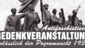 Anlässlich der Reichspogromnacht vom 9. auf den 10.November 1938 luden am Sonntag mehrere Initiativen (Cannstatter Stolperstein-Initiative, u.a.) zu einer Gedenkveranstaltung auf denWilhelmsplatz und zur anschliessenden Kranzniederlegung am Gedenkstein der ehemaligen […]