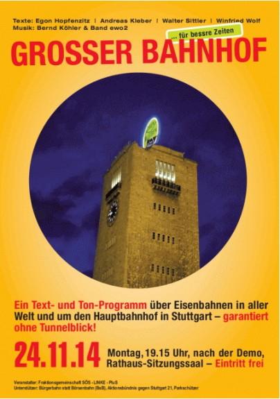 grosser bahnhof flyer1