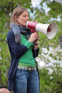Sarah Händel von Mehr Demokratie e.V.
