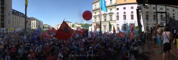©2015 Alexander Schäfer - G7-Demonstration in München
