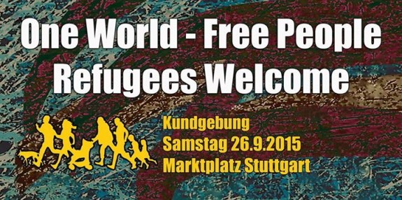 refugees welcome demo flyer 26092015 nopegidaS