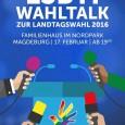 Am 17.02.16 führt der CSD-Magdeburg zur Diskussion des Aktionsplans gegen Homo- und Transphobie und weiteren Themen anlässlich der Landtagswahl eine öffentliche Podiumsdiskussion mit den SpitzenkandidatInnen der Parteien im Magdeburger Familienhaus […]