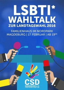 CSD-Magdeburg Wahltalk