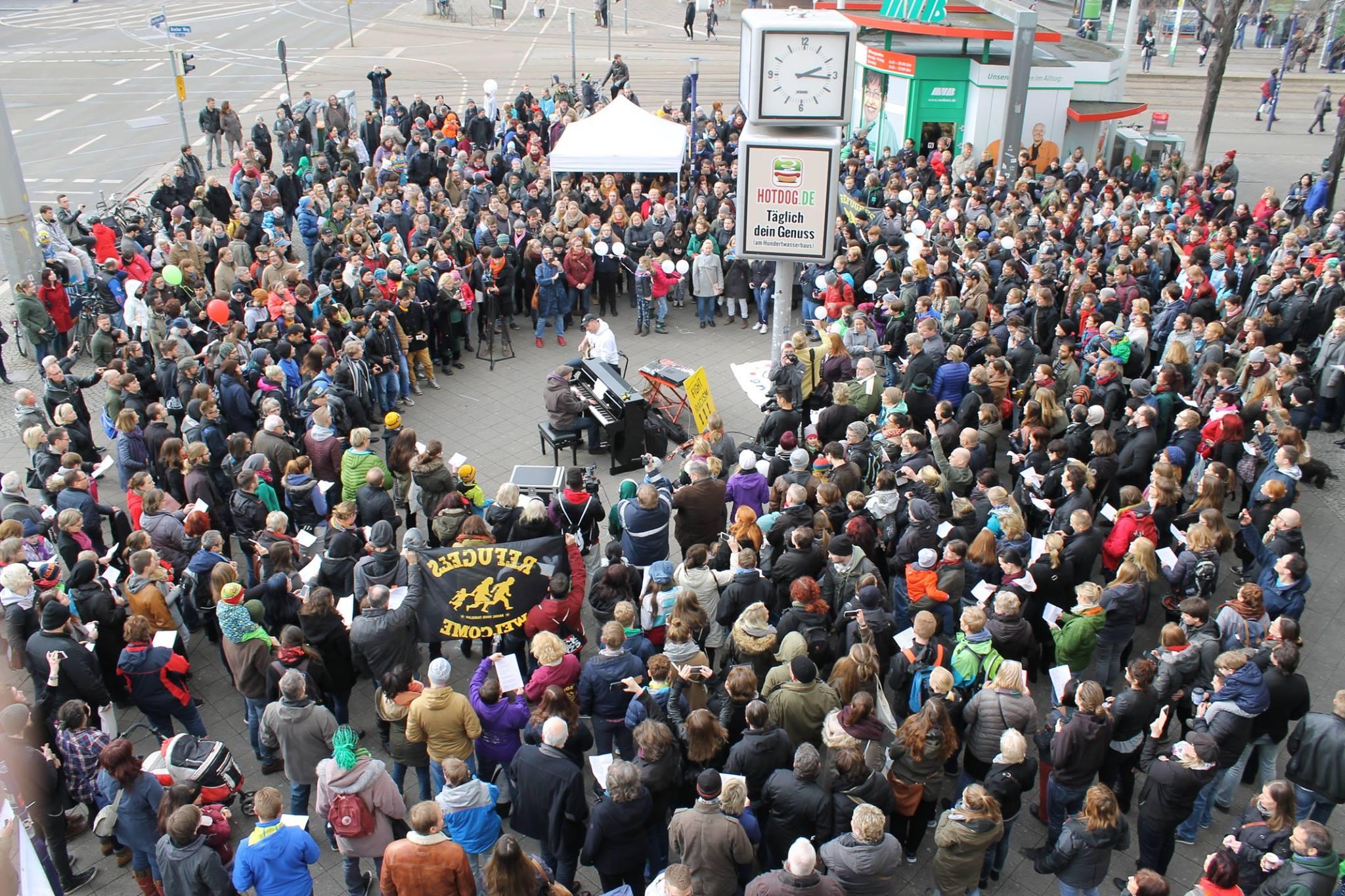 Aktion Arschloch Magdeburg