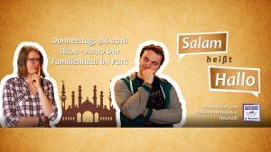 Salam heißt Hallo