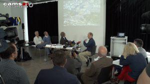 Pressekonferenz Aktionsbündnis gegen S21