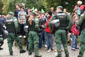Wo waren Kinder am 30.09.2010 im Schlossgarten?