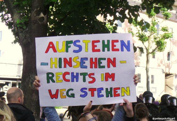 Fellbach demo plakat 17062017