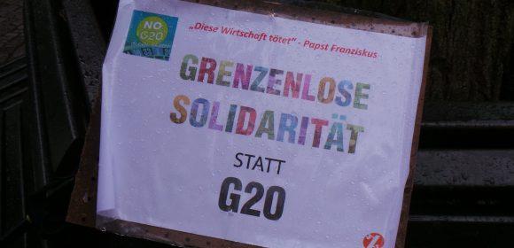 Vom 17.-18.03.2017 fand in Baden-Baden das Finanzminister*innen treffen G20 statt. Ein breites Bündnis hat für den Samstag zur Demonstration nach Baden-Baden mobilisiert. Unter dem Aktionskonsens: Die Kundgebung und die beabsichtigte […]