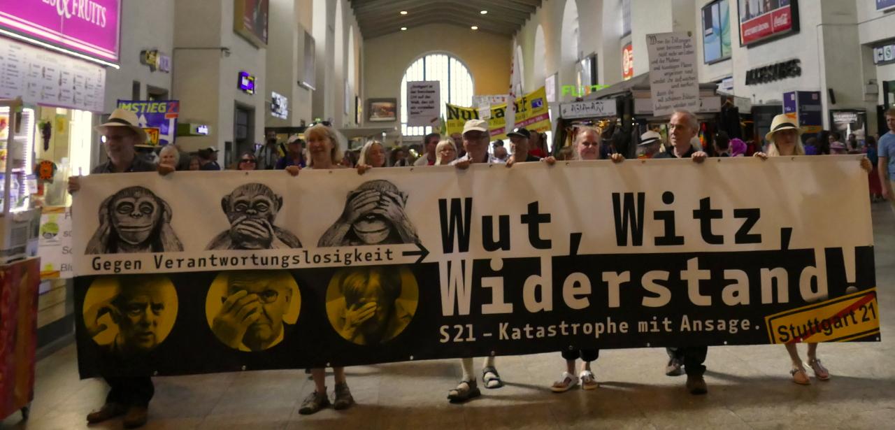 Sommerdemonstration gegen Stuttgart 21