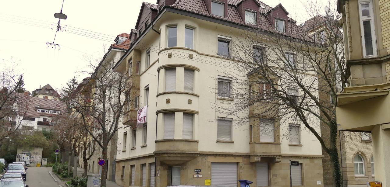 Neue Hausbesetzung nach Mieterdemonstration in Stuttgart