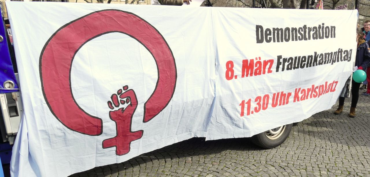 Internationaler Frauentag in Stuttgart